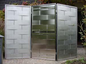 gestaltung und design galerie der edelstahlarbeiten von norbert finke. Black Bedroom Furniture Sets. Home Design Ideas